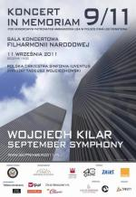 Wojciech Kilar's September Symphony at the concert