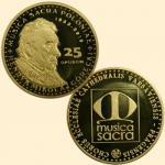 Henryk Mikołaj Górecki uwieczniony na numizmacie Mennicy Kresowej