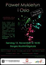 Koncert monograficzny utworów Pawła Mykietyna w Oslo