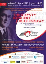Symphonic Concert on the 130th Anniversary of Karol Szymanowski's Birth