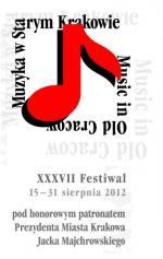 37. Festiwal Muzyka w Starym Krakowie