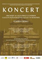 Missa brevis Mozarta w wykonaniu Chóru I LO  w Krakowie