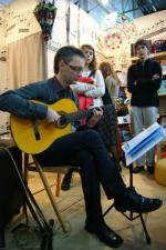 Spotkanie z gitarą na Targach Książki (zdjęcia)