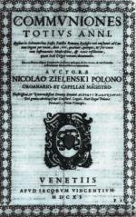 Venice Premiere of Mikołaj Zieleński's Works
