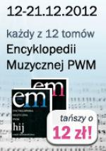 Przedświąteczna promocja Encyklopedii Muzycznej PWM