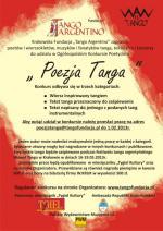 "Ogólnopolski Konkurs Poetycki ""Poezja Tanga"""
