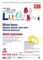 Witold Lutosławski na Dzień Dziecka