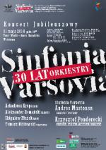 30-lecie Sinfonii Varsovii - koncert jubileuszowy