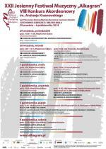 XXII Jesienny Festiwal Muzyczny Alkagran 2014