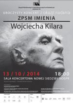 Uroczystość nadania imienia Wojciecha Kilara Zespołowi Państwowych Szkół Muzycznych w Katowicach