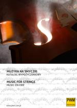 Music for strings - New PWM Hire Library Catalogues