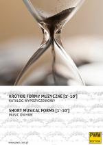 Short musical forms 1'-10' - Music on hire
