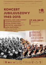 Koncert Jubileuszowy Filharmonii Krakowskiej