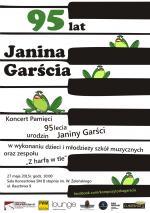 95. urodziny Janiny Garści - koncert