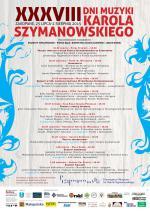 XXXVIII Dni Muzyki Karola Szymanowskiego