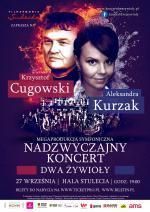 Dwa żywioły – koncert Aleksandry Kurzak i Krzysztofa Cugowskiego