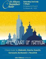 Koncert muzyki chóralnej w Anglii