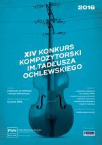 XIV Konkurs Kompozytorski im. Tadeusza Ochlewskiego