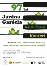 Koncert pamięci Janiny Garści
