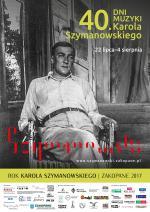 40. Dni Muzyki Karola Szymanowskiego