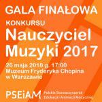 Ogólnopolski Konkurs Nauczyciel Muzyki 2017