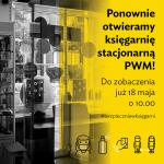 Księgarnia firmowa PWM wznawia działalność stacjonarną