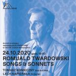 """Nowa płyta i koncert dla jubilata – """"Songs & Sonnets"""" od Anaklasis dla Romualda Twardowskiego"""