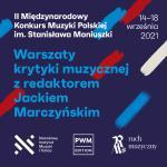 Warsztaty krytyki muzycznej pod okiem Jacka Marczyńskiego