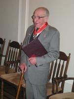 Jerzy Jasieński odznaczony Krzyżem Komandorskim Orderu Odrodzenia Polski z Gwiazdą