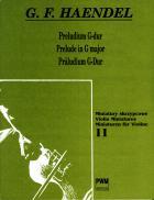 Preludium G-dur