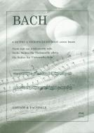 6 Suites a violoncello solo