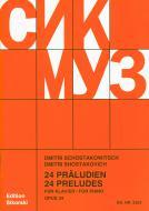 24 Preludia op. 34