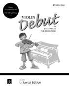 Violin Debut. Akompaniament fortepianowy