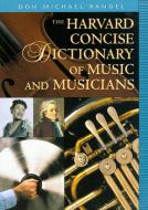 The Harvard Concise Dictionary of Music