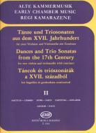 Tańce i sonaty triowe z XVII wieku