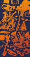 Bandana zimowa - instrumenty