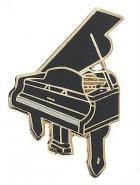 Przypinka - fortepian