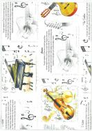 Papier ozdobny - instrumenty