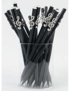 Ołówek ze srebrnym kluczem wiolinowym
