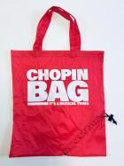 """Torba na zakupy czerwona """"Chopin bag"""""""