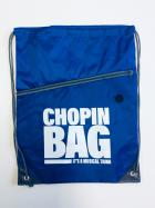 "Worek-Plecak niebieski ""Chopin bag"""