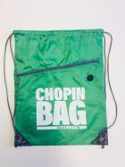 "Worek-Plecak zielony ""Chopin bag"""