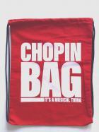 """Plecak - Worek bawełniany czerwony """"Chop"""