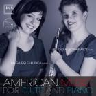 American music for flute and piano CD