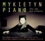 Utwory fortepianowe Pawła Mykietyna na płycie